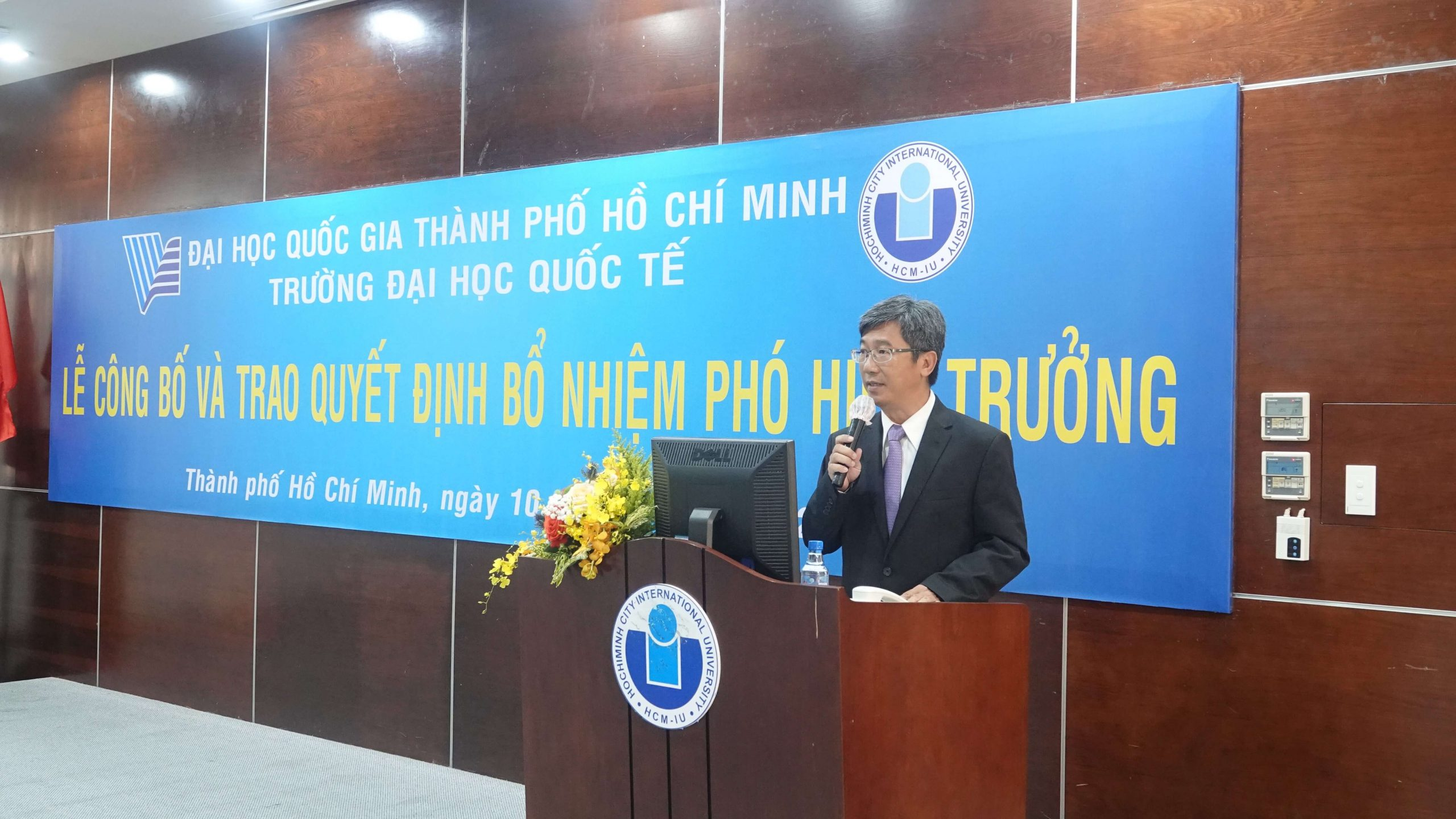 INTERNATIONAL UNIVERSITY WELCOMES NEW VICE RECTOR